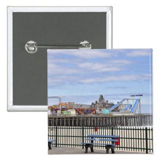 Seaside Heights, Jersey Shore 15 Cm Square Badge