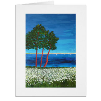 Seaside in Brittany Big Greeting Card