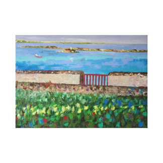 Seaside in Brittany Gallery Wrapped Canvas