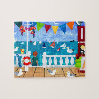 'Seaside' Jigsaw Puzzle