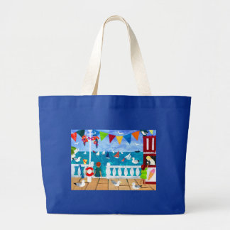 'Seaside' Jumbo Tote Bag