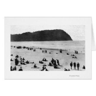 Seaside, Oregon Beach and Tillamook Head Card