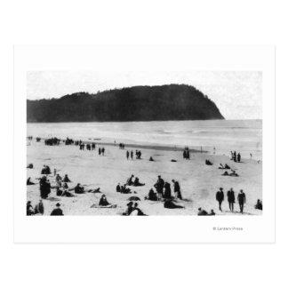 Seaside, Oregon Beach and Tillamook Head Postcard