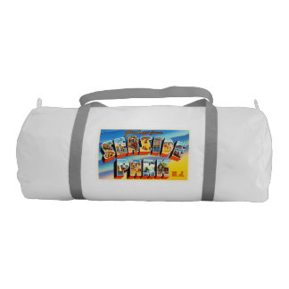 Seaside Park New Jersey NJ Old Vintage Postcard- Gym Duffel Bag