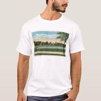 Seaside Park View of Mirror Lake T-Shirt
