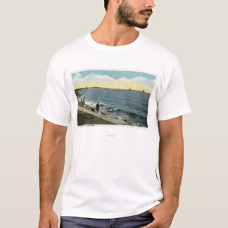 Seaside Park View of the Sound T-Shirt