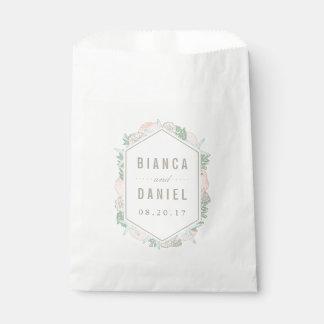 Seaside Pastels Wedding Favour Bags