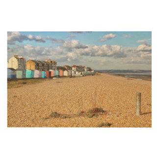 Seaside Resort | Littlestone, Kent Wood Print
