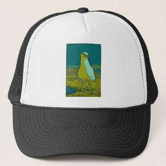 Seaside seagull trucker hat