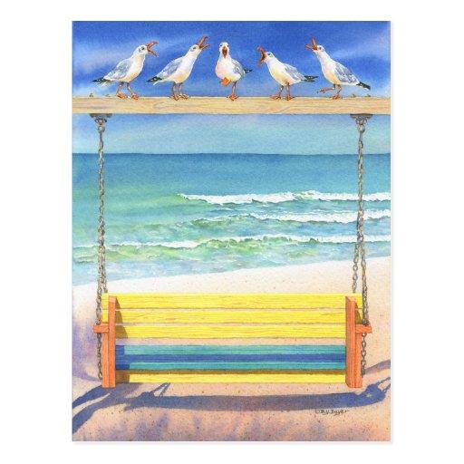 Seaside Serenade Postcards