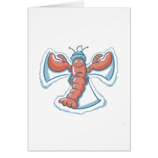 Seaside Snow Angel Series Card