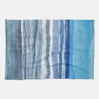 Seaside View Ocean Art Tea Towel