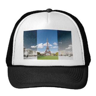 Season change in Paris Trucker Hat