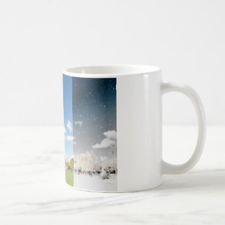 Season change in Paris Classic White Coffee Mug