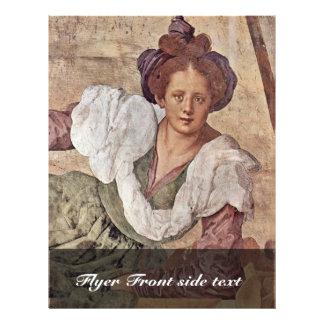 Season Frescoes In The Medici Villa At Poggio A Ca 21.5 Cm X 28 Cm Flyer