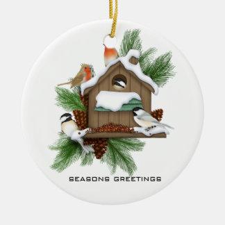 Season Greetings Christmas Ornament