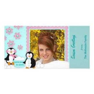 Season Greetings Custom Photo Card