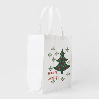 Season Greetings reusable Bag