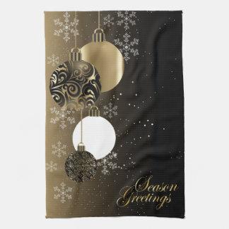 Season Greetings Tea Towel