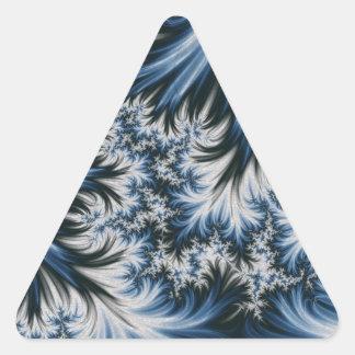 Season Of Frost Triangle Sticker