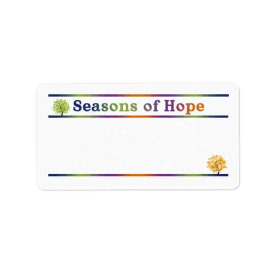 Season of Hope Address labels