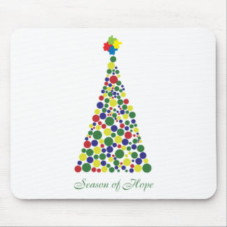 Season of Hope - Autism Awareness Mouse Pad