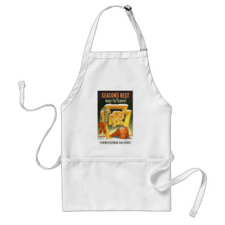 Season s Best Way To Travel Pennsylvania Railroad Aprons