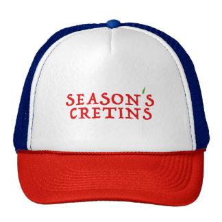 season`s cretins cap