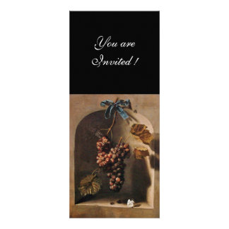 SEASON S FRUITS - PROSPERITY brown green yellow Custom Invitation