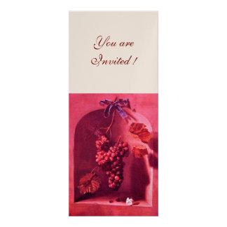 SEASON S FRUITS - PROSPERITY pink red champagne Custom Invitations