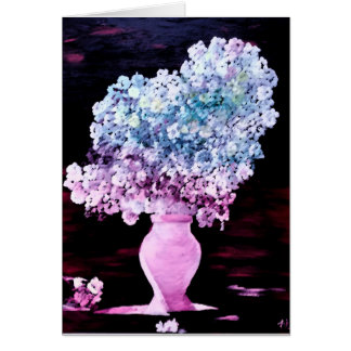 Season's Greeting Card, Blossom of Flowers Card