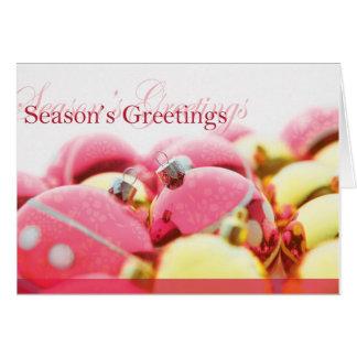 Season s Greetings Card