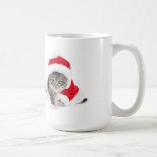 Season s Greetings From Santa Claws Mugs