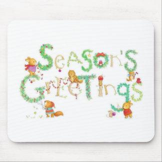 Season s Greetings Mousepad