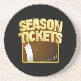 Season Tickets Beverage Coaster
