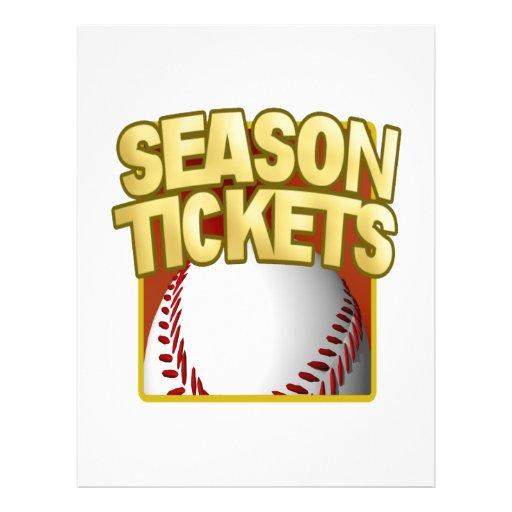 Season Tickets Full Color Flyer