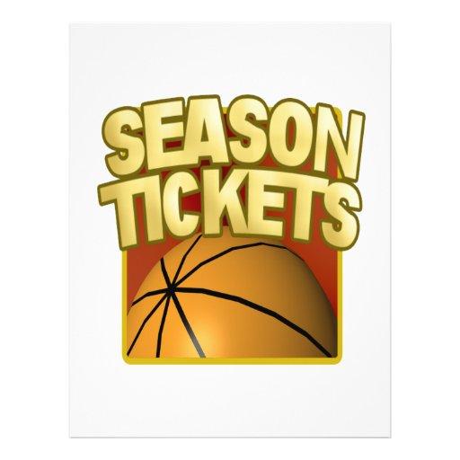 Season Tickets Flyer