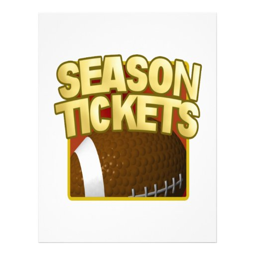 Season Tickets Flyers