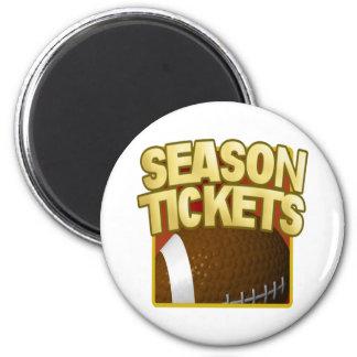 Season Tickets Refrigerator Magnet