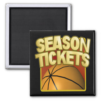 Season Tickets Fridge Magnet