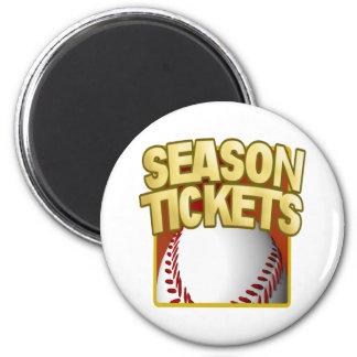 Season Tickets Refrigerator Magnets