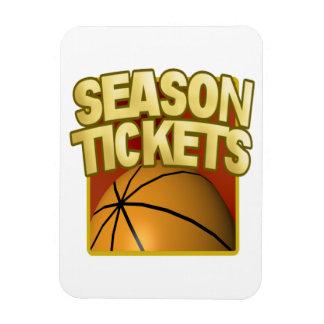 Season Tickets Rectangular Photo Magnet