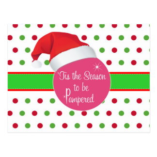 Season to be Pampered- Perfectly Posh Post card