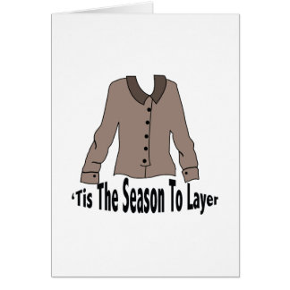 Season To Layer Greeting Cards