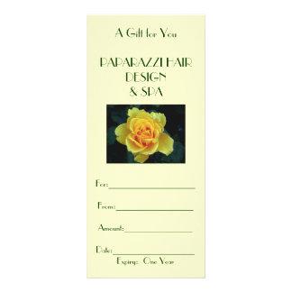 Seasonal, Beautiful Business Gift Card/Certificate 10 Cm X 23 Cm Rack Card