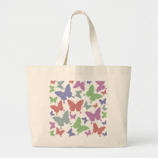 Seasonal Butterflies Jumbo Tote Bag