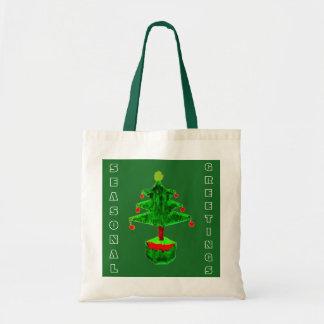 Seasonal Greetings Tote Bag