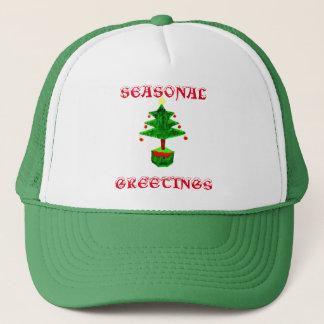 Seasonal Greetings Trucker Hat
