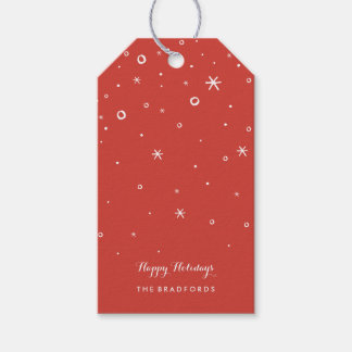 Seasonal Sparkle Holiday Gift Tags