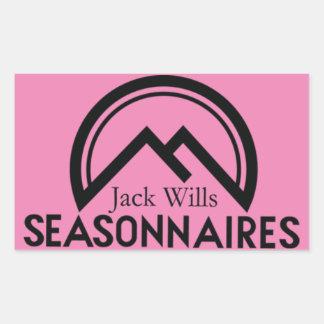Seasonnaire stickers